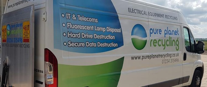 Weee Recycling Computer Disposal Pure Planet Recycling
