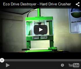 hard drive crushing video.