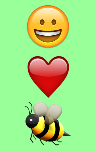 love bees graphic