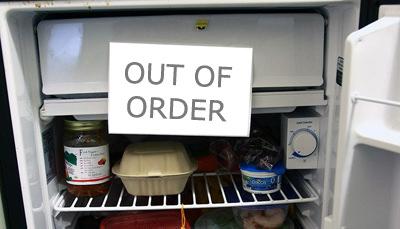 office fridge recycling