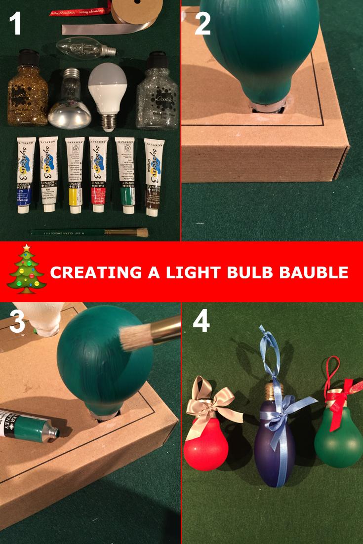 light bulb bauble