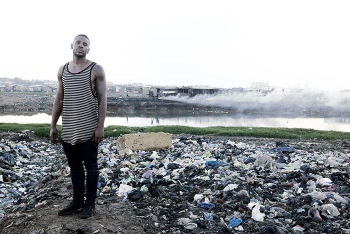 Reggie Yates On An E-Waste Dump