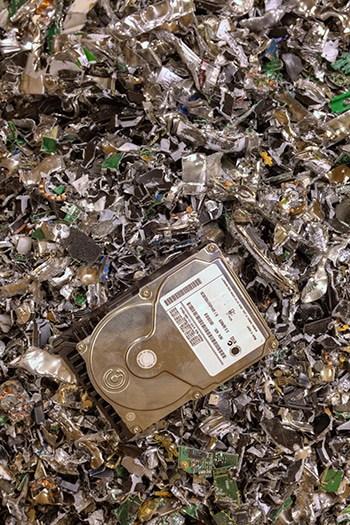 hard drive destruction